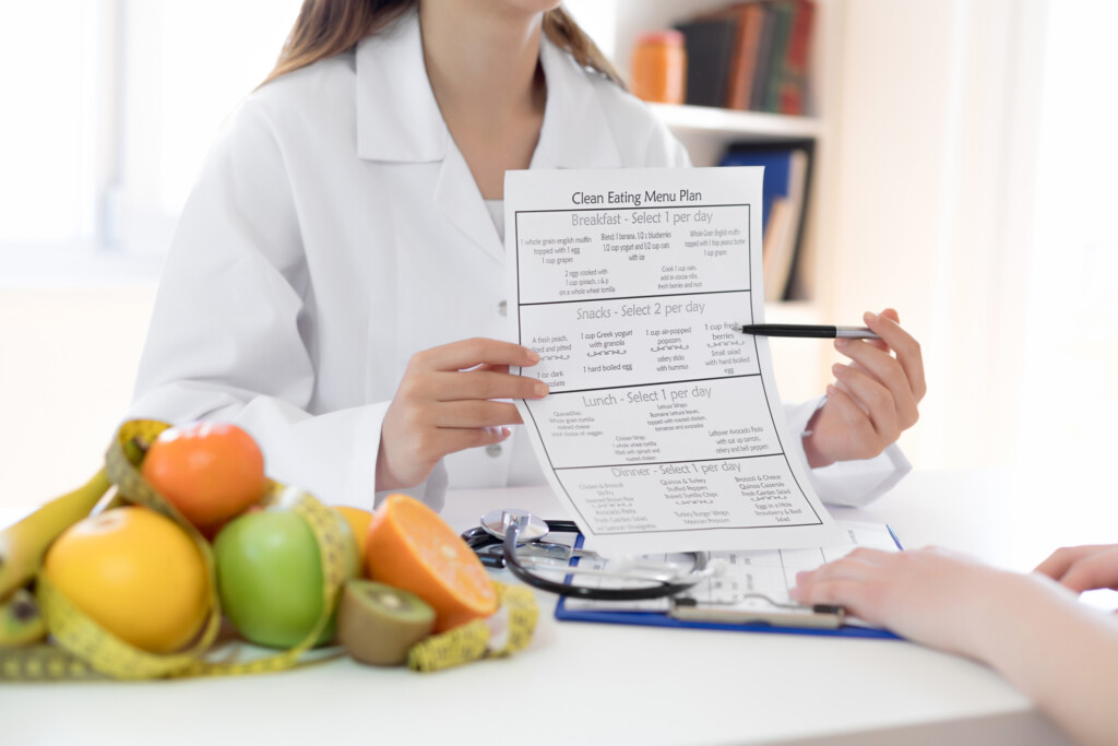 Ernährungsplan und Ernährungsumstellung