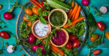 Gemüse für Detox Lebensmittel reinigen den Körper