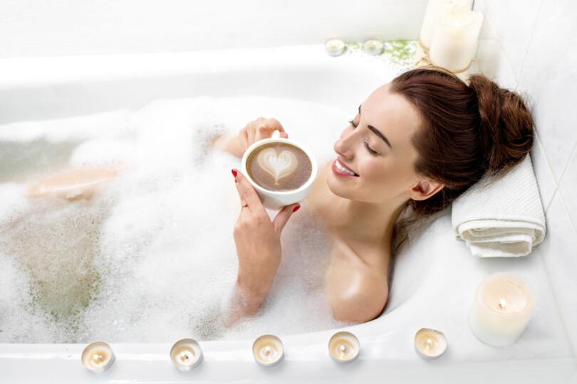 Entspannungs-Beauty-Tage in der Badewanne