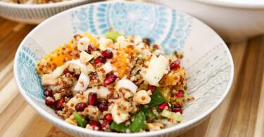 Quinoa Blutorangen Salat