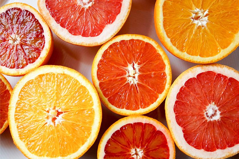 Blutorangen, Grapefruit, Orangen, Vitamin C