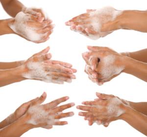 Anleitung fürs richtige Händewaschen