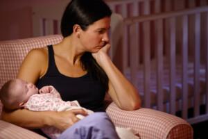 Postpartale Depression - Hormone sind Schuld