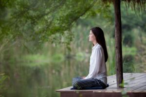 Meditation für schnelleres Einschlafen