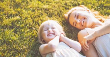 Vitamin D Mama und Tochter