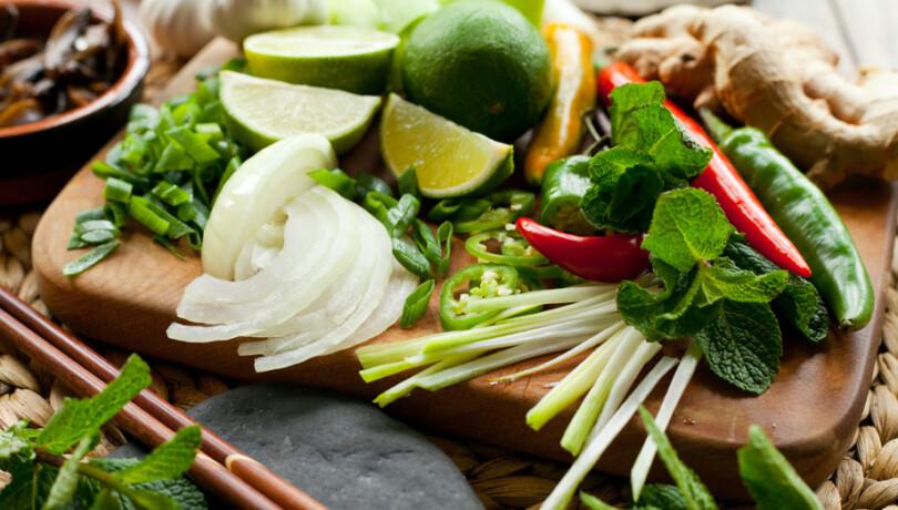 Kräuter, Obst, Gemüse für Gute Tipps für vegetarisches und veganes Kochen