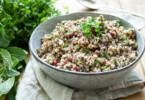 Quinoa mit Pistazien und Cranberries Rezept (vegan und glutenfrei) von Elle Republic
