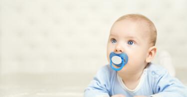 Baby Schnuller Blau