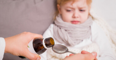 Kind krank Medizin