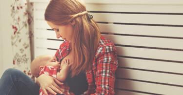 Mama Baby Stillen Brust