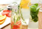Detox Wasser zum Durstlöschen und Entgiften