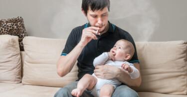 Raucher: Kinder gefährdet