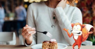 Medizinfuchs Mythen fördern Süßigkeiten schlechtes Hautbild