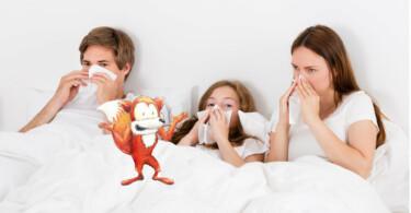 Medizinfuchs Mythen häufiges Naseputzen