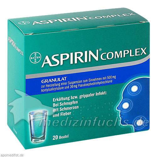 Platz 4 aspirin complex