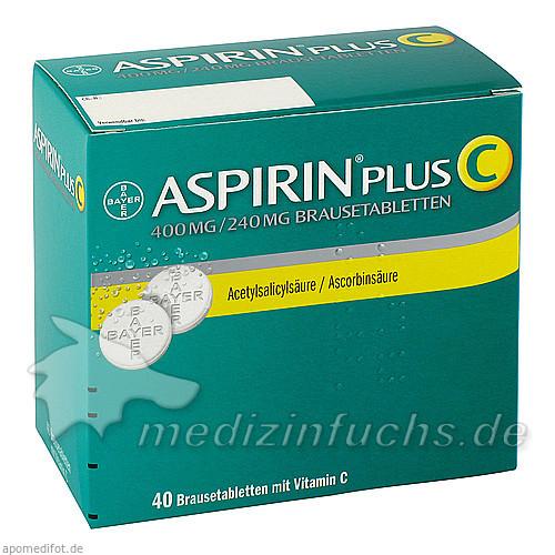 Platz 5 aspirin plus c