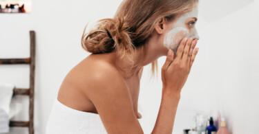 Gesichtsmasken schöne haut einfache mittel