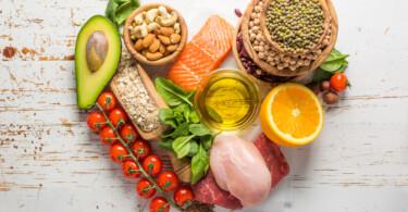 Gesunde Lebensmittel die gute Laune machen