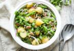 Bohnensalat mit Kartoffeln, Proteinlieferanten die nicht teuer sind