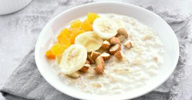 Aprikosen Porridge - ein sehr gesundes Frühstück
