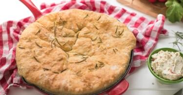 Brotzeit zum Oktoberfest Brot aus der Pfanne Rezept-2018-1