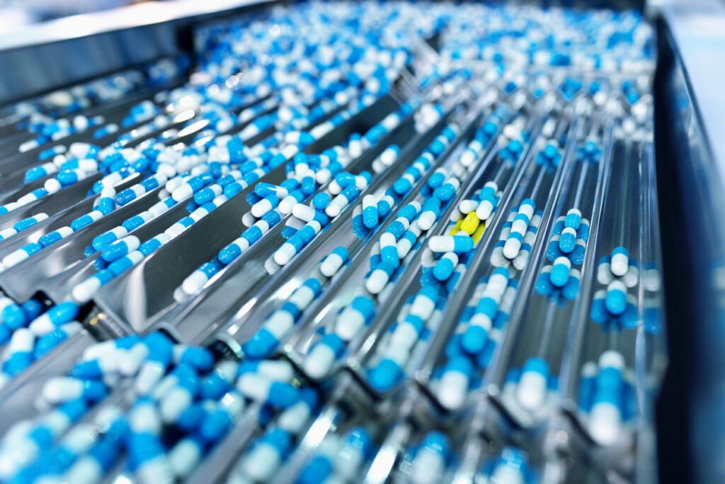 Medikamenten Produktion Fälschungsschutz