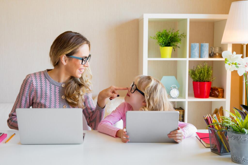 Homeoffice mit Kindern - Läuft!