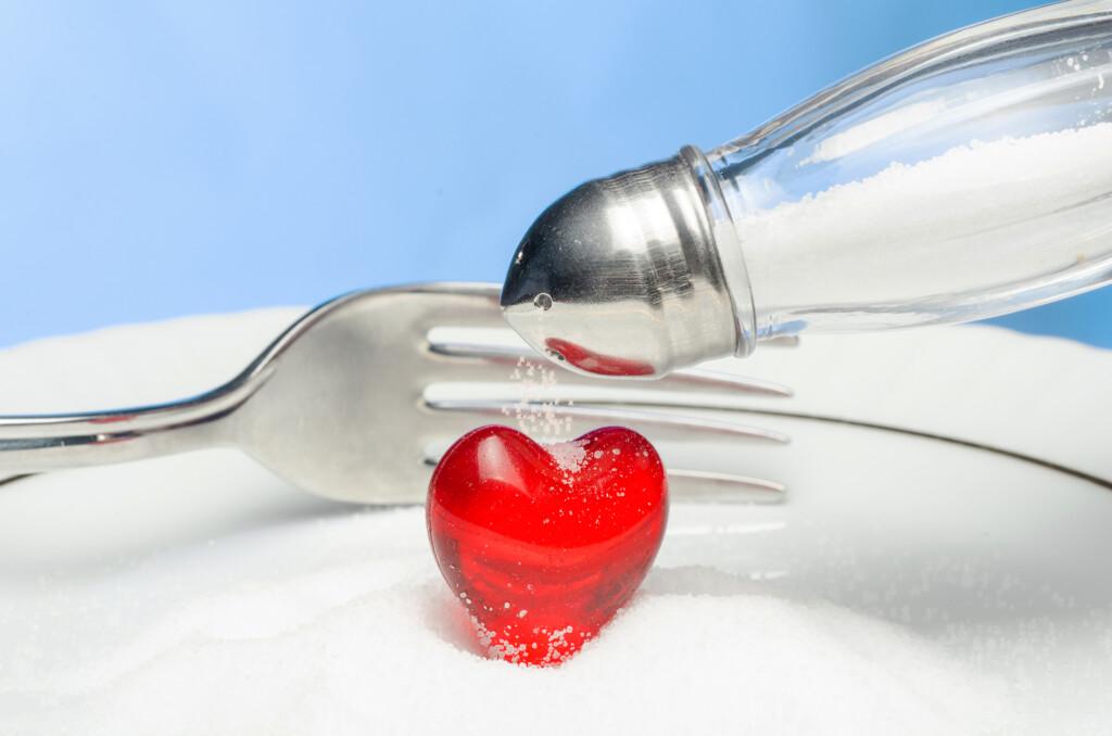 Herzinfarkt durch zu viel Salz?