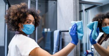 Flächendesinfektion gegen Viren