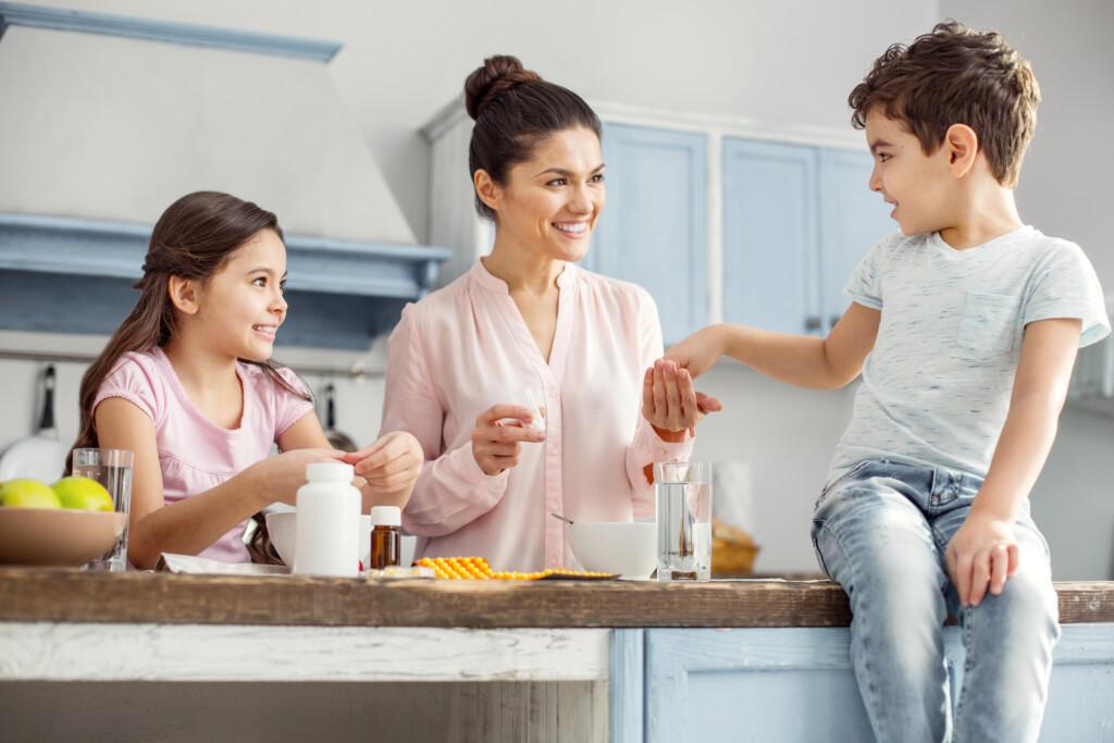 Vitamine für Kinder - gesunde Ernährung für die ganze Familie