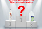 Top-Produkte Flaechendesinfektion
