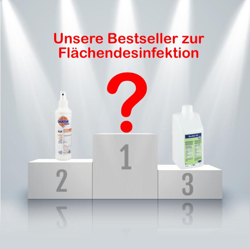 Top-Produkte Flaechendesinfektion