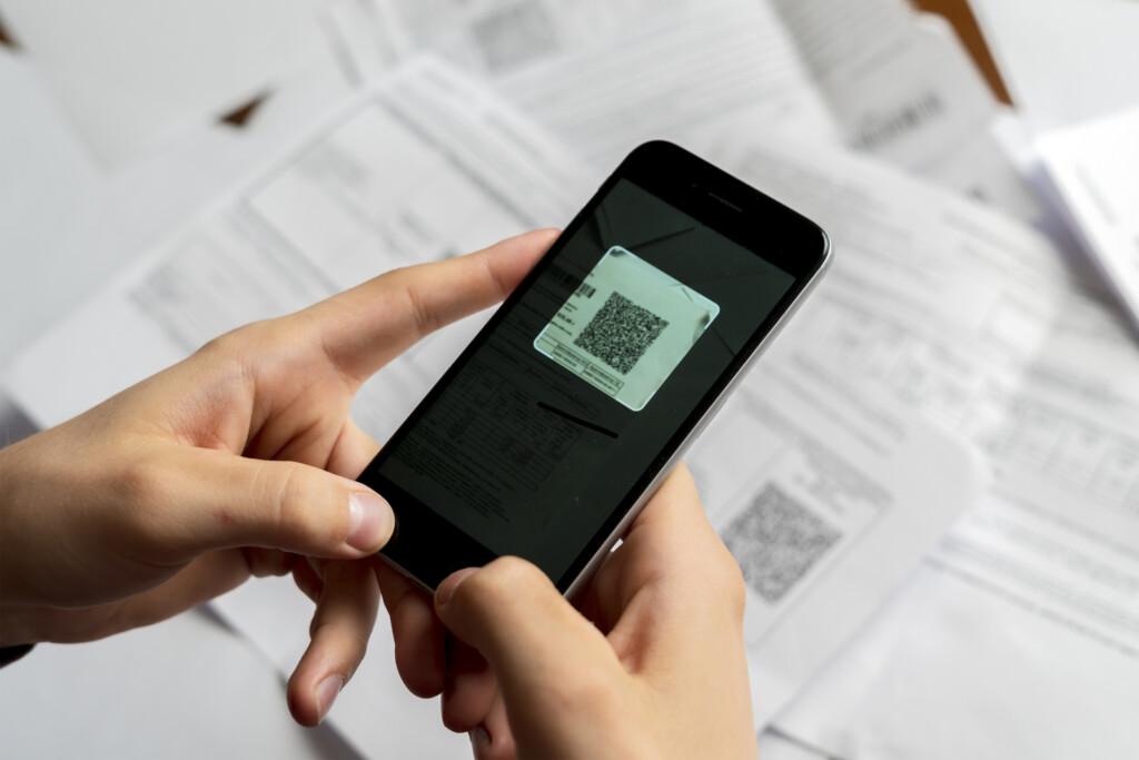 Digitaler Impfpass - QR-Code scannen