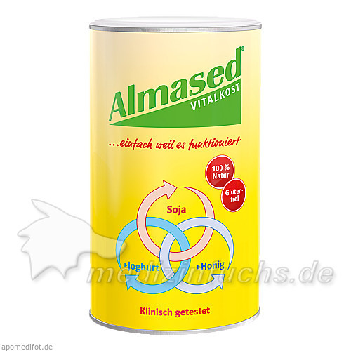 ALMASED VITALKOST/PFLANZ K, 500 G, Almased Wellness GmbH